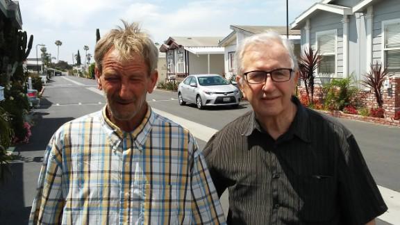 Frank Kerrigan, left, and his father, also named Frank Kerrigan.