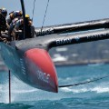 america's cup oracle head on