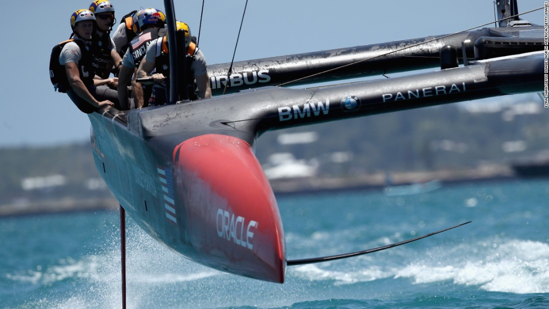 But Spithill's win streak in the oldest international competition in sport ended at this year's America's Cup in Bermuda's Great Sound, where Oracle Team USA were beaten 7-1 by Emirates Team New Zealand and its 26-year-old skipper, Peter Burling.