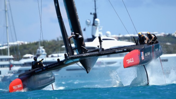 The new SailGP circuit will feature high-speed multihulls similar to those raced in the 2017 America's Cup.