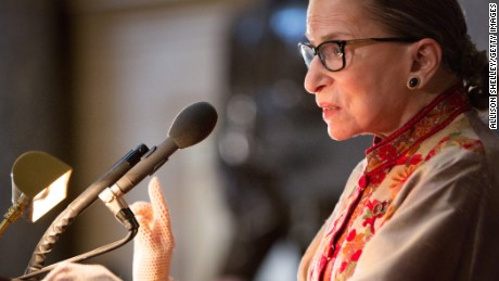 RBG revolutionized the world for women. We should listen to her