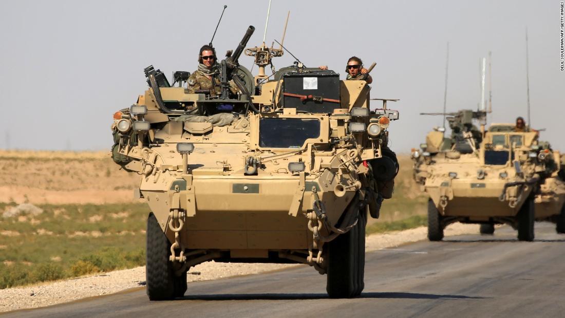 US-Truppen sind der Ausdruck von Wut im Trump die Syrien-Politik: