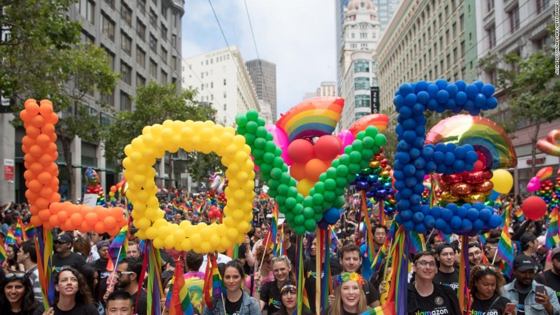 pride marches Gay