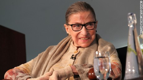 Ruth Bader Ginsburg: 'For so long, women were silent'