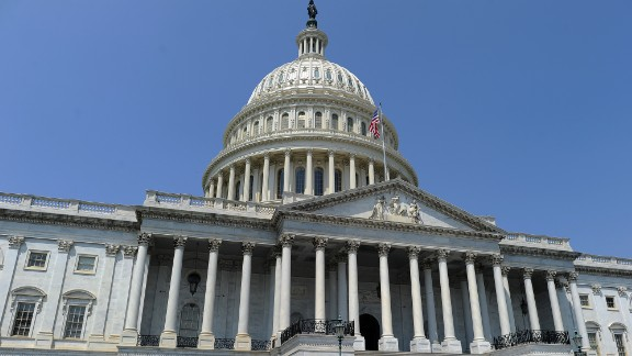 The US Capitol building is pictured in Washington, DC, on July 29, 2011. US President Barack Obama warned the US was almost of time to agree a debt ceiling deal as Republicans and Democrats scrambled to find a way out of an impasse and avoid a disastrous default. With just days to go until the United States could be pushed into an unprecedented default, Obama insisted the warring sides could still reach an 11th-hour compromise on raising the $14.3 trillion debt ceiling.