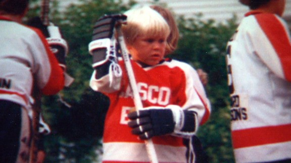 Roy started playing hockey at a young age.