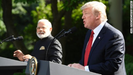 Trump: Relations with India better than ever