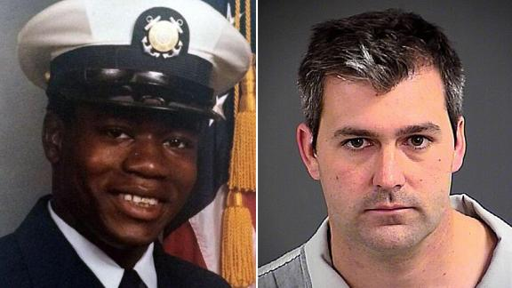 Walter Scott on left and Michael Slager, sentenced to prison, on right.
