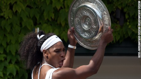 In June, it was revealed that Williams was the only woman in the new Forbes list of the world's 100 highest paid athletes in 2017. Williams, ranked 51, made $27 million last year.