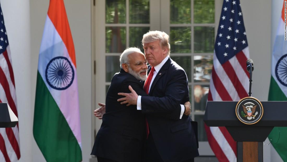 Trump-Modi bromance reignited at Texas rally