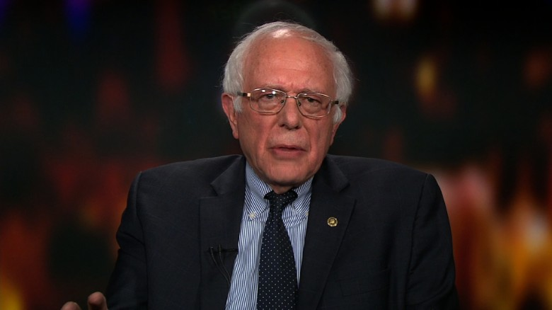 Sanders: Pathetic to go after people's wives