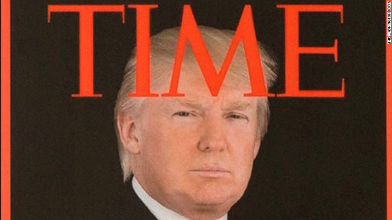Faking a Time magazine cover is the most Trump thing ever ...