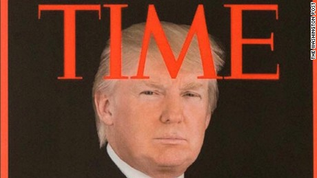 Faking a Time magazine cover is the most Trump thing ever