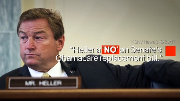 America First Policies Inc., Senator Heller