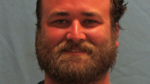 Michael Tate Reed, 32, is accused of ramming his car into the moument.