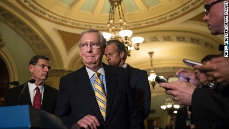 More optimism than progress for Senate health care bill