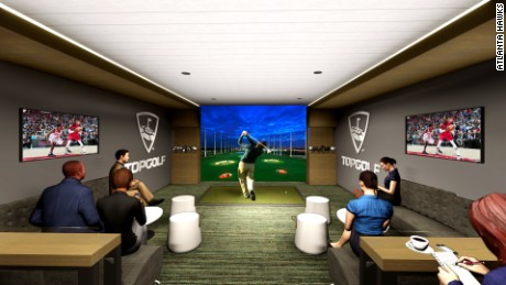 There will be two Topgolf Swing Suites.