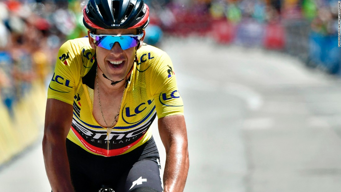 The main threat to Froome's hopes of wearing the yellow jersey again is arguably Australian Richie Porte. At 32, he is a seasoned competitor and already boasts six wins this season. Porte was Froome's domestique -- a rider who works for the benefit of his team and leader -- at Team Sky and played a major role in Froome winning his second Tour de France crown in 2015. Now the lead rider at BMC, Porte will be looking to prove his Tour credentials.