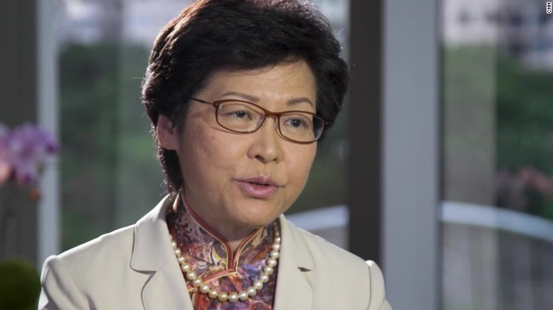 carrie lam hong kong article 23 law stout intv_00001321