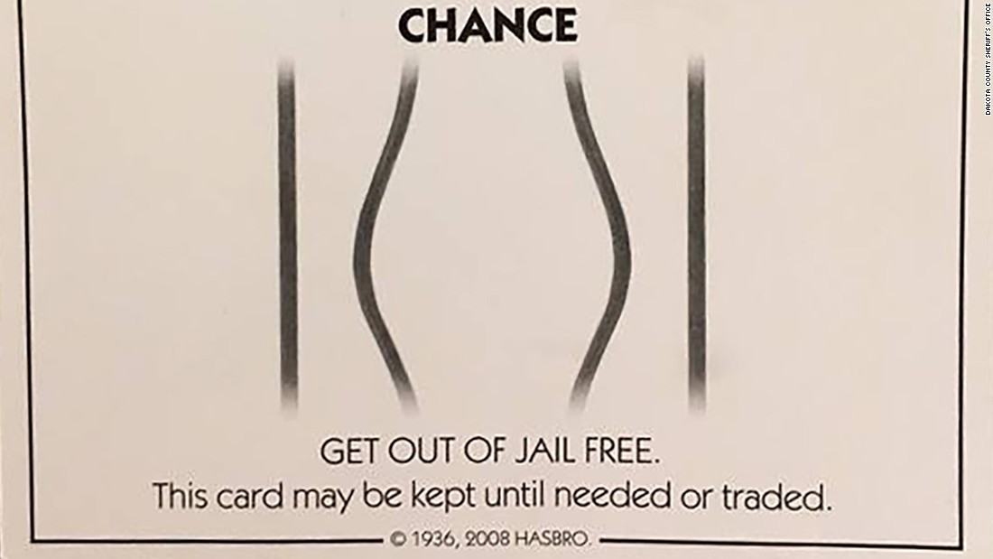 Get Out Of Jail Free Card Doesn T Apply On Minnesota Roadway Cnn