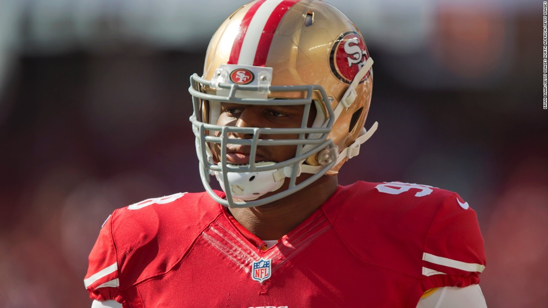 Lawrence Okoye has an eclectic sporting background. As a schoolboy, he excelled in rugby and track and field athletics, and he still holds the British record for discus. He's been signed to a number of NFL practice squad but is yet to take to the field in a game.