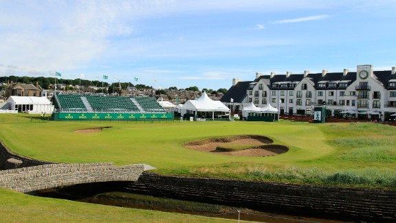 Carnoustie: The Championship course is the main pull and is famed as the venue where Jean Van de Velde paddled in the burn during a final-hole collapse during the British Open in 1999.