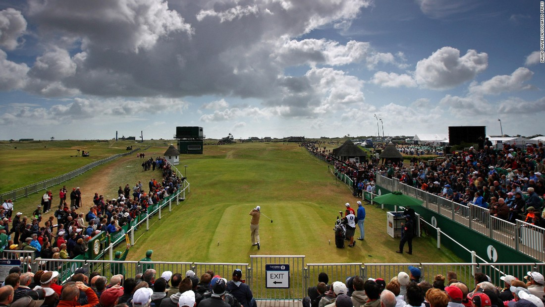 <strong>Royal St. George's: </strong>The furthest south of the Open venues in England, Royal St. George's is a quintessential links overlooking the North Sea in Kent.