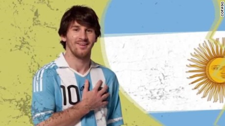 Lionel Messi's journey to greatness