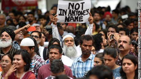 #NotInMyName: Indians protest against rise in mob violence