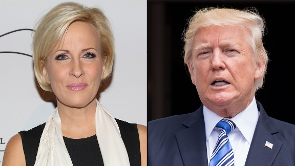 NEW YORK, NY - NOVEMBER 14:  Mika Brzezinski attends Silver Hill Hospital 2016 Giving Hope Gala at Cipriani 42nd Street on November 14, 2016 in New York City.  (Photo by Sylvain Gaboury/Patrick McMullan via Getty Images)  President Donald Trump and First Lady Melania Trump await the arrival of President Juan Carlos Varela and Mrs. Lorena Castillo Varela of Panama, at the South Portico (South Lawn) of the White House, on Monday, June 19, 2017. (Photo by Cheriss May) (Photo by Cheriss May/NurPhoto via Getty Images)