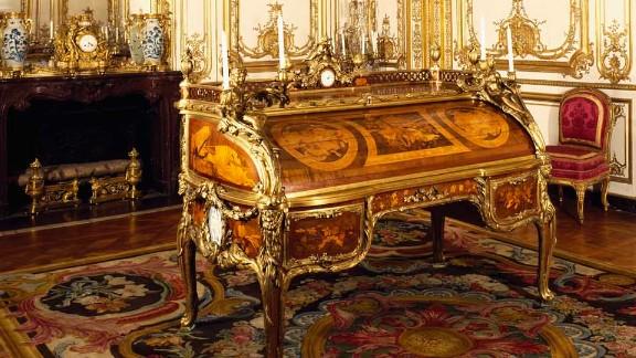 Louis XV's study at Versailles.