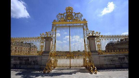 The royal gate at Versailles.