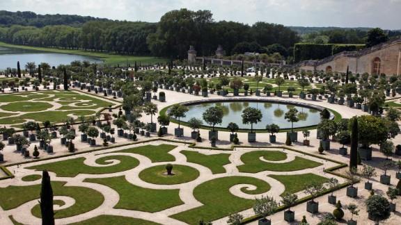 The parc de l'Orangerie.