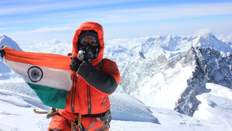 Anshu Jamsenpa Indian Mountaineer from Arunachal Pradesh mother of two teenager summited Mount Everest twice in world record time 5 days (118.15Hrs) on 21st May 2017 Sunday at 7.45am IST.