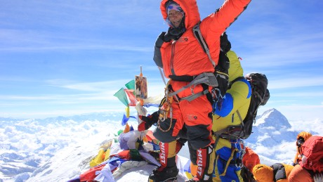 Anshu Jamsenpa completed her second ascent to the top of Mount Everest this year on May 21.