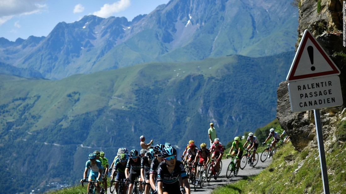 Le Tour takes in some of the most breathtaking scenery in Europe. In 2016, Froome unexpectedly won the stage to Bagnères-de-Luchon by attacking on the descent. The Team Sky rider will need to produce similar stage performances this year, as the tour features the lowest number of time trial kilometers in history -- a discipline Froome excels in.<br />