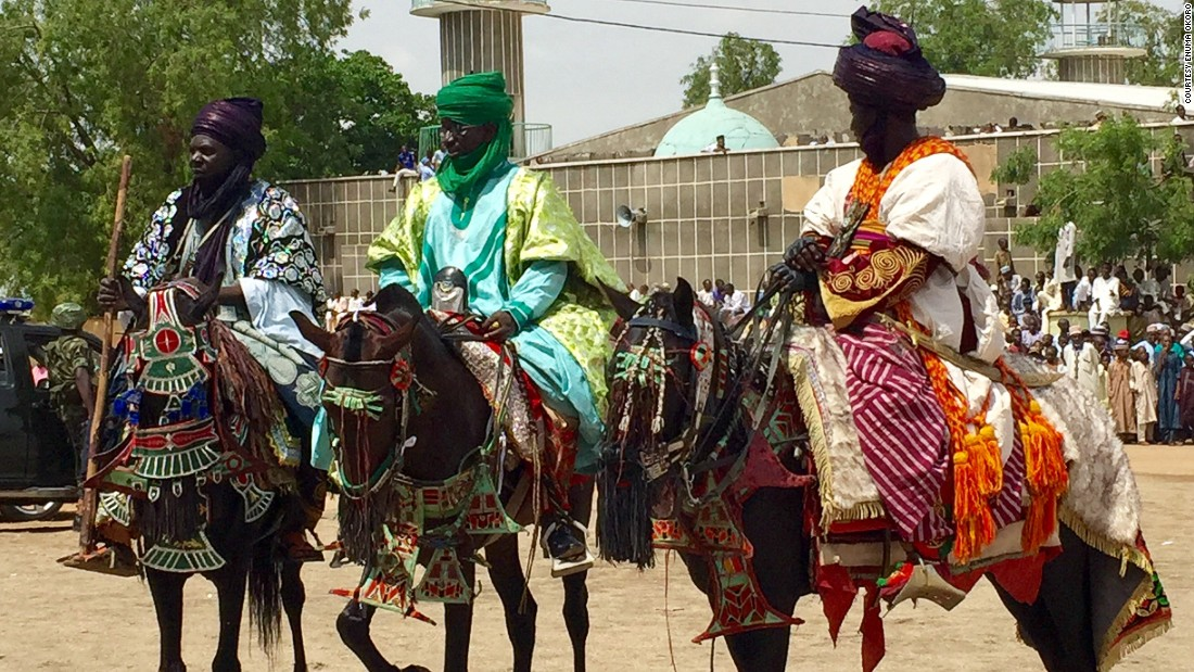 Nigeria is host to a variety of rich and diverse cultural traditions across its states. This time of year in Northern Nigeria, a part of the country rich with the history of ancient Islamic kingdoms, the annual Durbar Festival is celebrated in states like Kano, Katsina, Zaria and Sokoto. [Photos by Enuma Okoro]<br />