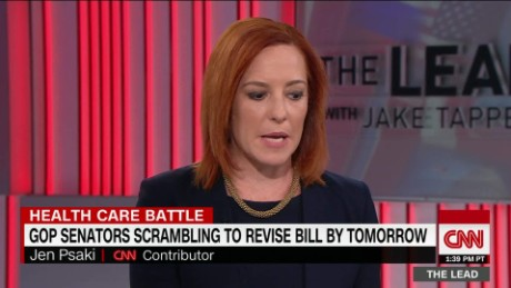 Psaki: Dems should negotiate healthcare with GOP