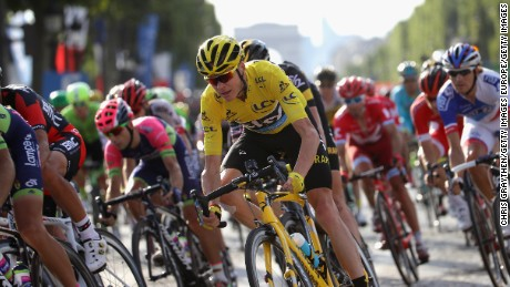 Froome won his fourth Tour de France crown in July.