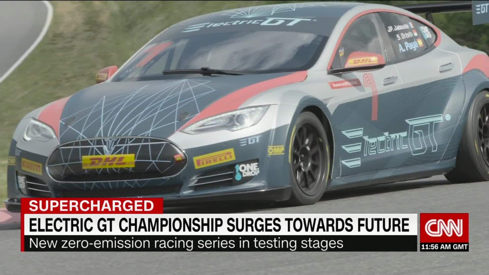 Electric Gt A New Racing Championship Could The Birth Of A New