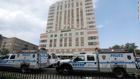 'Acts of heroism' shine amid the horror of New York hospital shooting