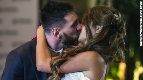 Goal of a lifetime? Messi weds longtime girlfriend in hometown