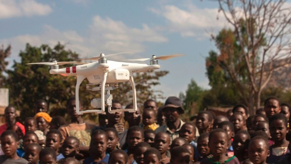 UNICEF and the Malawian government set up a drone testing corridor in Lilongwe to investigate how drones can be used for humanitarian work, like mapping cholera outbreaks and mosquito breeding sites.  Read more about the testing corridor.