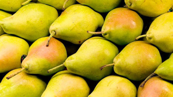 At 6 grams each, pears have some of the highest fiber content in the fruit family. Eat them raw, in salads or poached in wine or pomegranate juice for dessert.