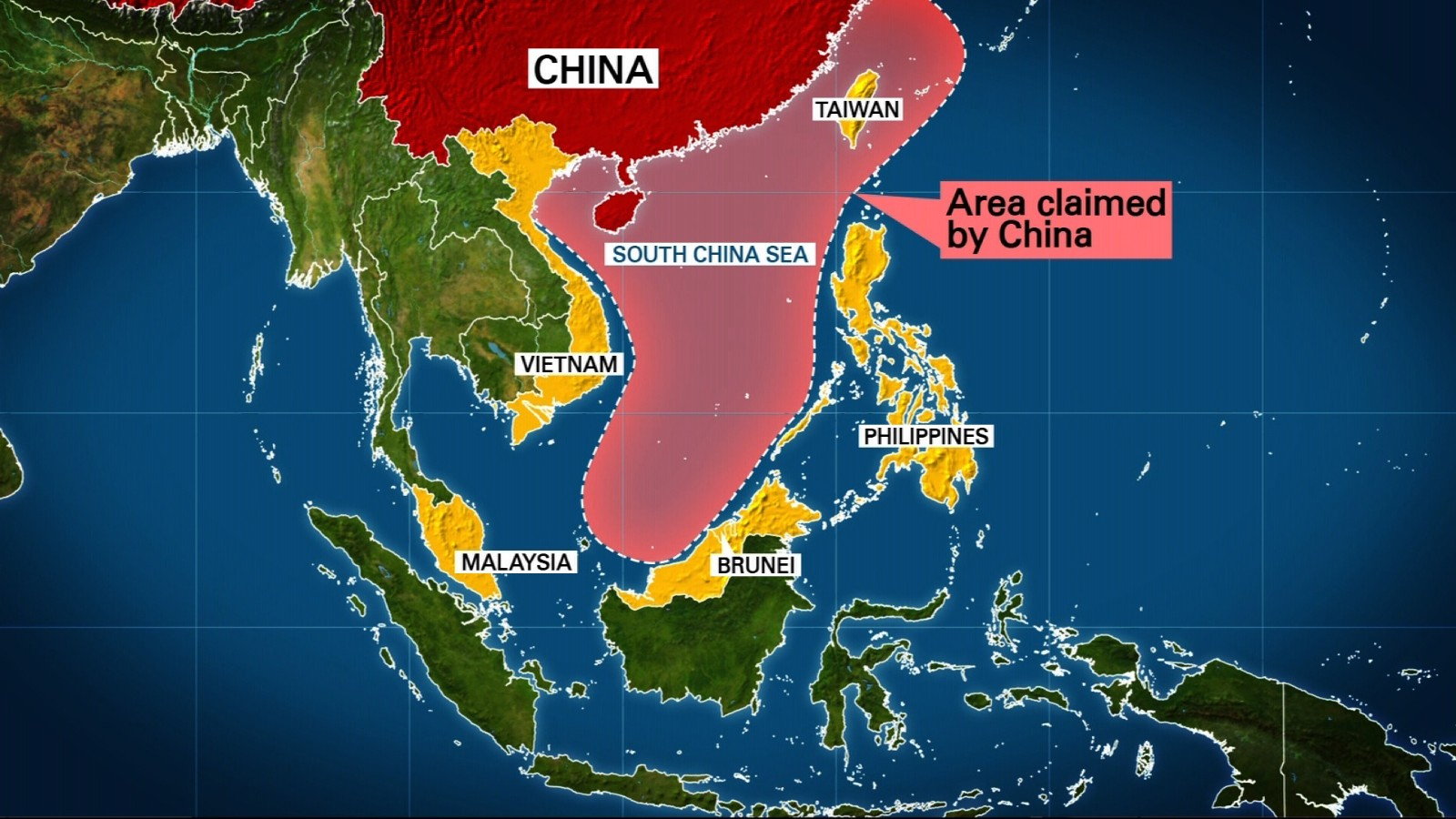 Resultado de imagen de CHINA AGAINST JAPAN TO CONTROL SOUTH CHINA SEA
