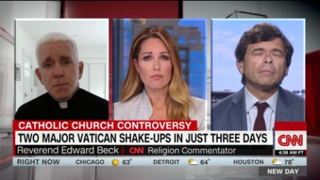Two major shake-ups at the Vatican