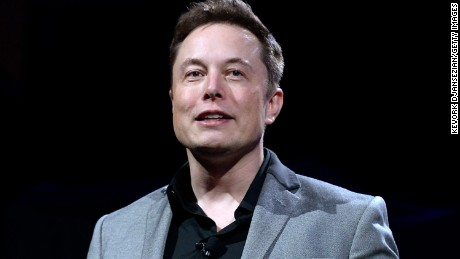 LOS ANGELES, CA - APRIL 30:  Elon Musk, CEO of Tesla, unveils suit of batteries for homes, businesses, and utilities at Tesla Design Studio April 30, 2015 in Hawthorne, California. Musk unveiled the home battery named Powerwall with a selling price of $3500 for 10kWh and $3000 for 7kWh and very large utility pack called Powerpack. (Photo by Kevork Djansezian/Getty Images)