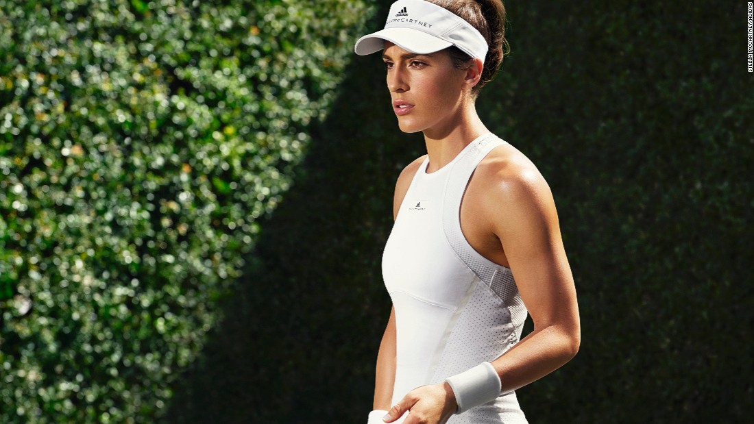 Stella McCartney has designed a new ladies collection for this year's Wimbledon.