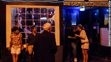 Live jazz music can be found at The Spotted Cat on Frenchmen Street.