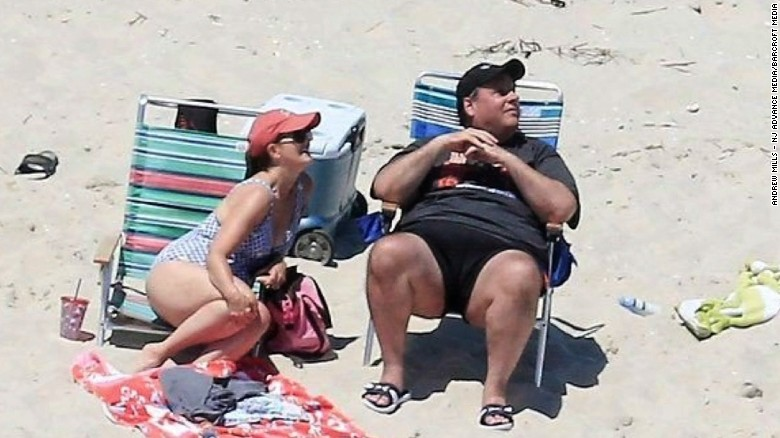 Christie caught on beach he closed to public